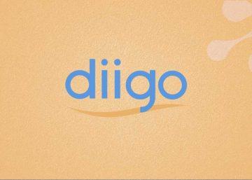 Diigo logo on brainspace site